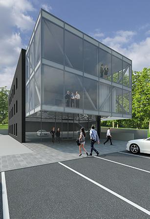 """Budynek biurowy – """"Centrum Biznesu"""""""