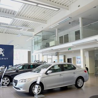 Dealer Peugeot Showroom, Opole