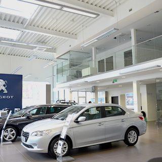Salon sprzedaży Peugeot, Opole