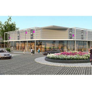 Ascot shopping mall, Opole