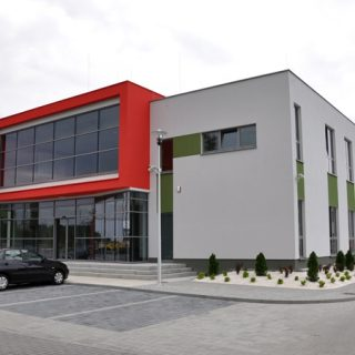 Vitroterm Murów, office building
