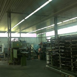 Workshop of building fixtures installation ROTOX