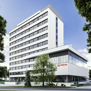 Office buildings for VEOLIA