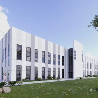 Kolejne budynki w Parku Naukowo-Technologicznym