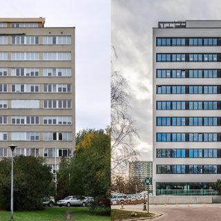 (Polski) Metamorfoza budynku biurowego w Warszawie